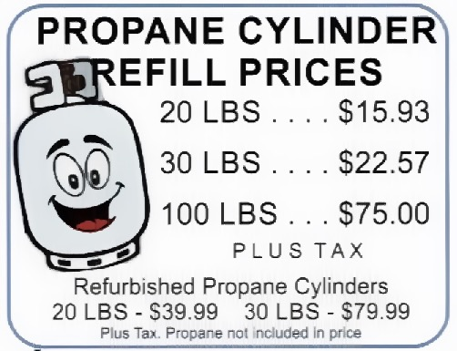 Propane Refill Station – OLD CUT BOAT LIVERY